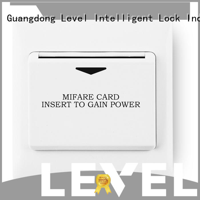 Level high quality hotel energy saving switch on sale for apartment