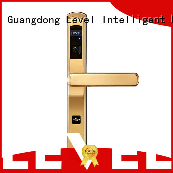 Level bridgecut hotel room door locks supplier for guesthouse