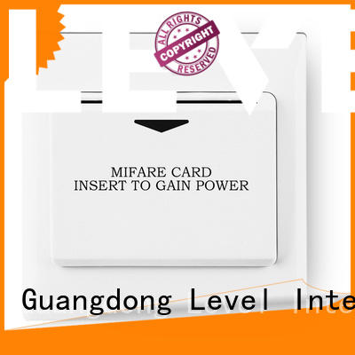 Level hotel hotel energy saving switch promotion for residential