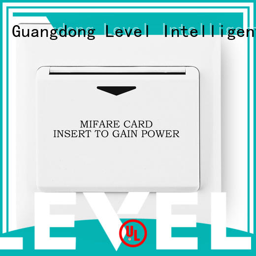 Level reliable energy saver key card switch saving for Villa