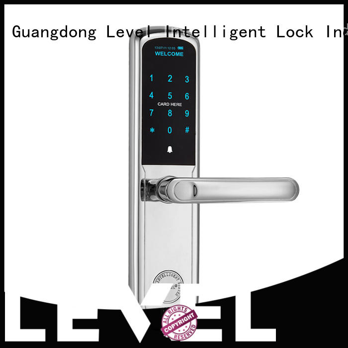 Level high quality touch keypad lock supplier for apartment