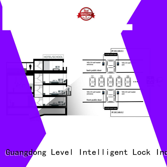 security Level virtual online lock system level online for hotel