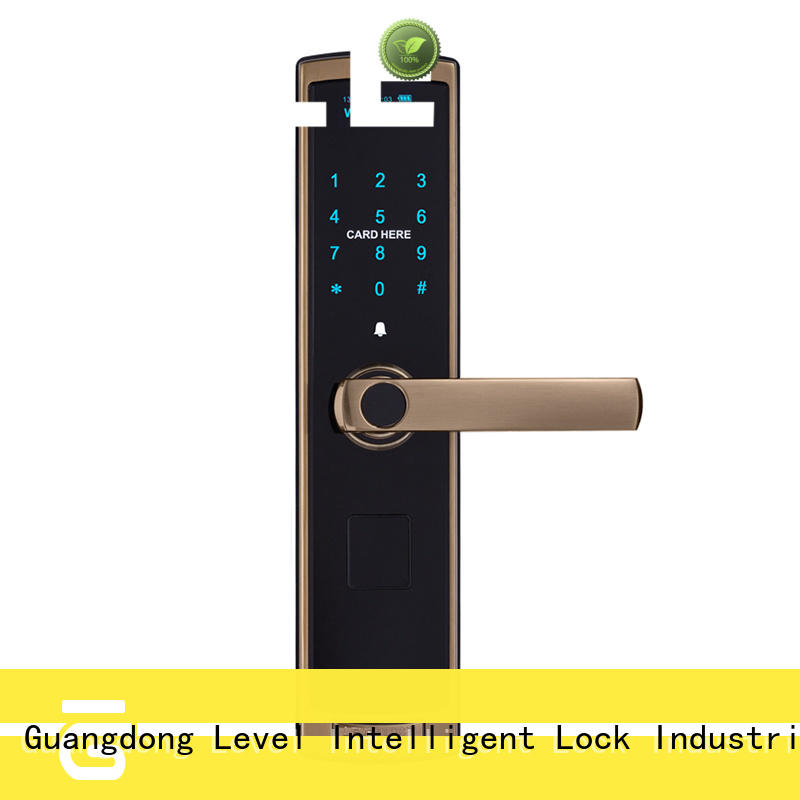 Level painting electronic keypad lock supplier for Villa