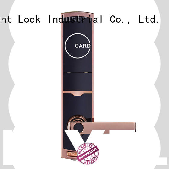 Level security card lock wholesale for lodging house