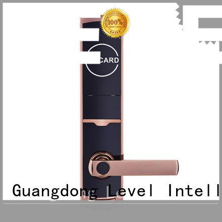 Level rfn300 smart card lock supplier for lodging house