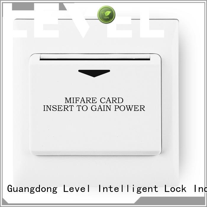 Level safe energy saving switch supplier for Villa