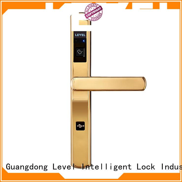 Level technical locks on hotel doors wholesale for Villa