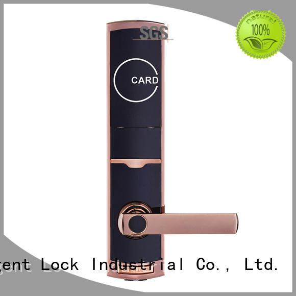 steel smart hotel room security door locks bridgecut model Level Brand