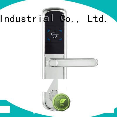 Level practical key card door lock for hotels wholesale for lodging house
