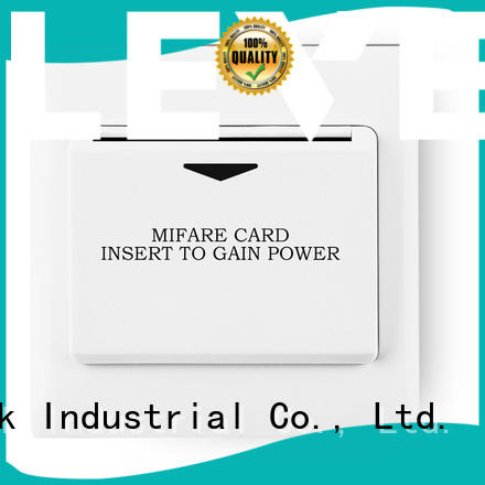 Level sw2000mf1 energy saver key card switch supplier for Villa