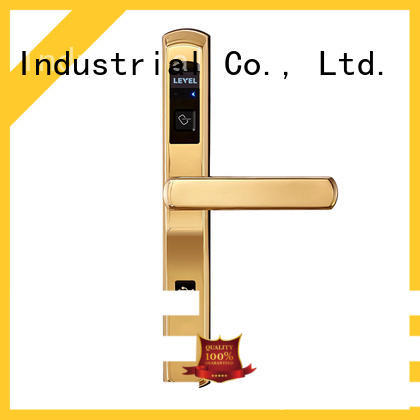Level model key card door lock for hotels supplier for hotel