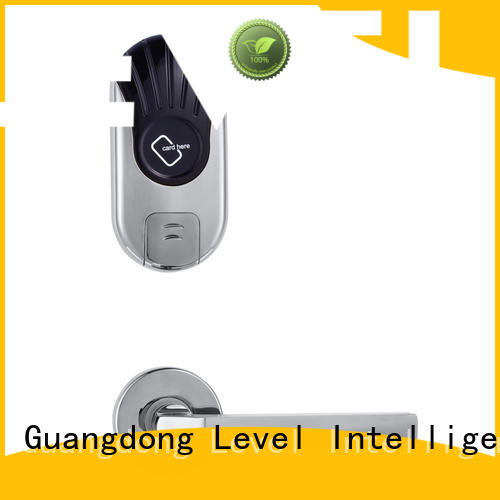 technical hotel card lock promotion for hotel Level
