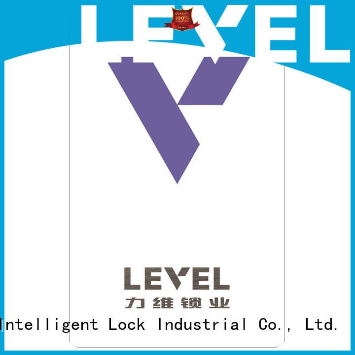 Level technical hotel lock system accessory for Villa