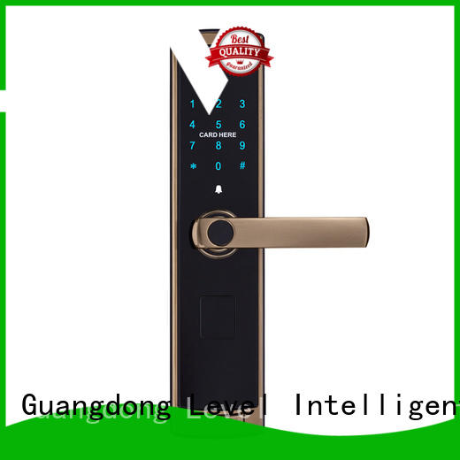 Level high quality residential electronic lock factory price for apartment