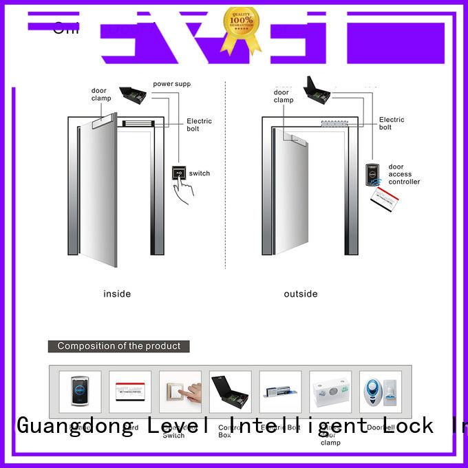 Level access online door access controller from China for Villa
