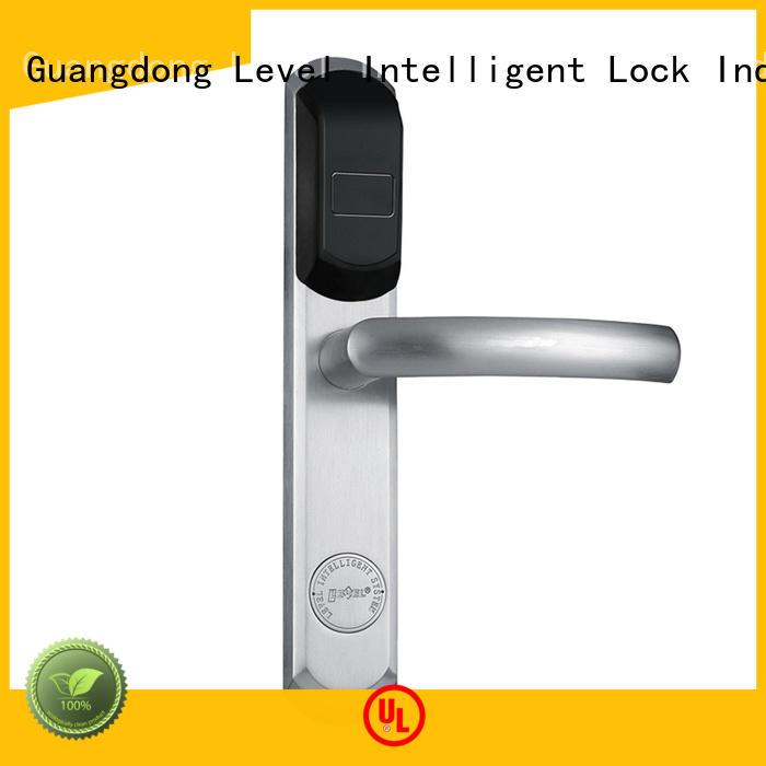 smart rfid hotel room security door locks Level Brand