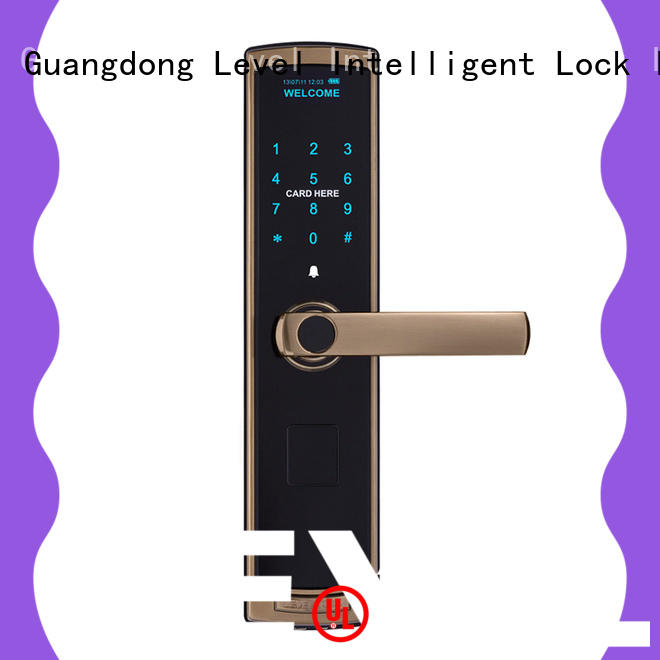 Level painting electronic keypad lock factory price for residential