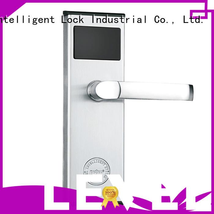 slim hotel card reader door locks rf1108 for apartment Level
