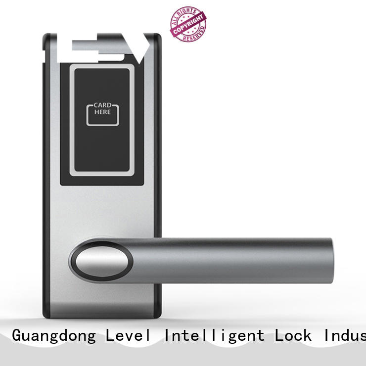 Level technical electronic lock promotion for guesthouse