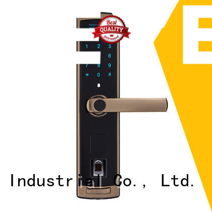 Level keyless residential electronic lock tdt1380 for Villa