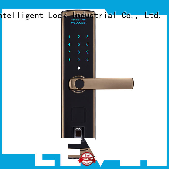 security residential electronic lock black supplier for residential