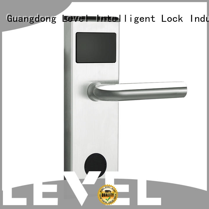 Level style hotel room locks supplier for lodging house