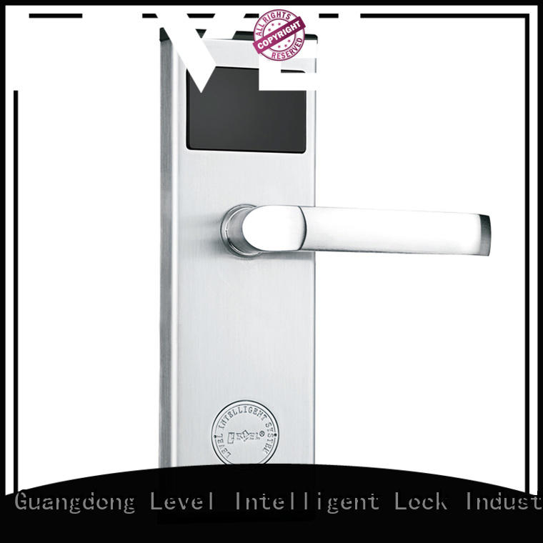 Level tubular rfid card lock supplier for lodging house
