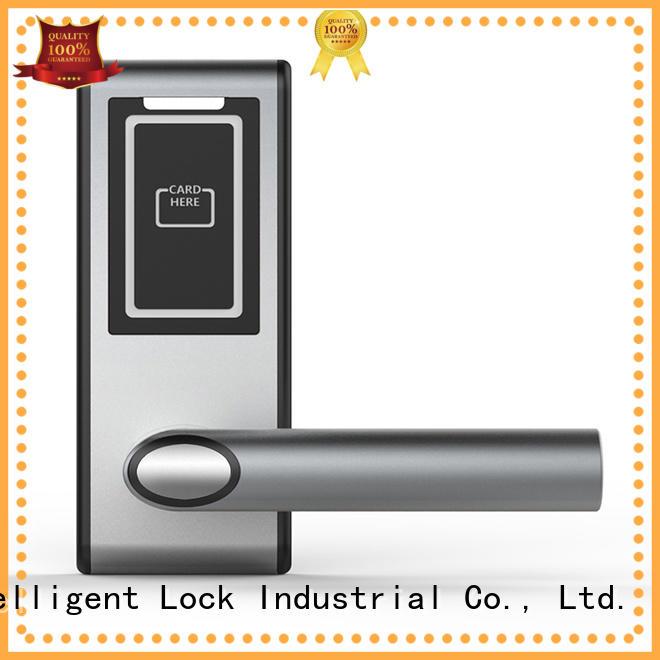 sus304 hotel room door locks card for apartment Level