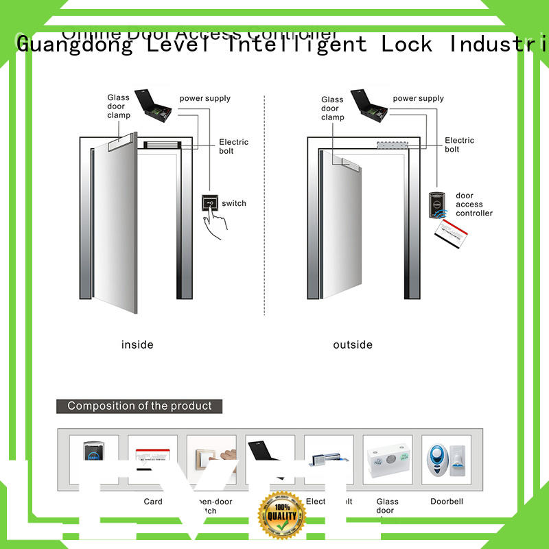 Level access online door access controller remote control for guesthouse