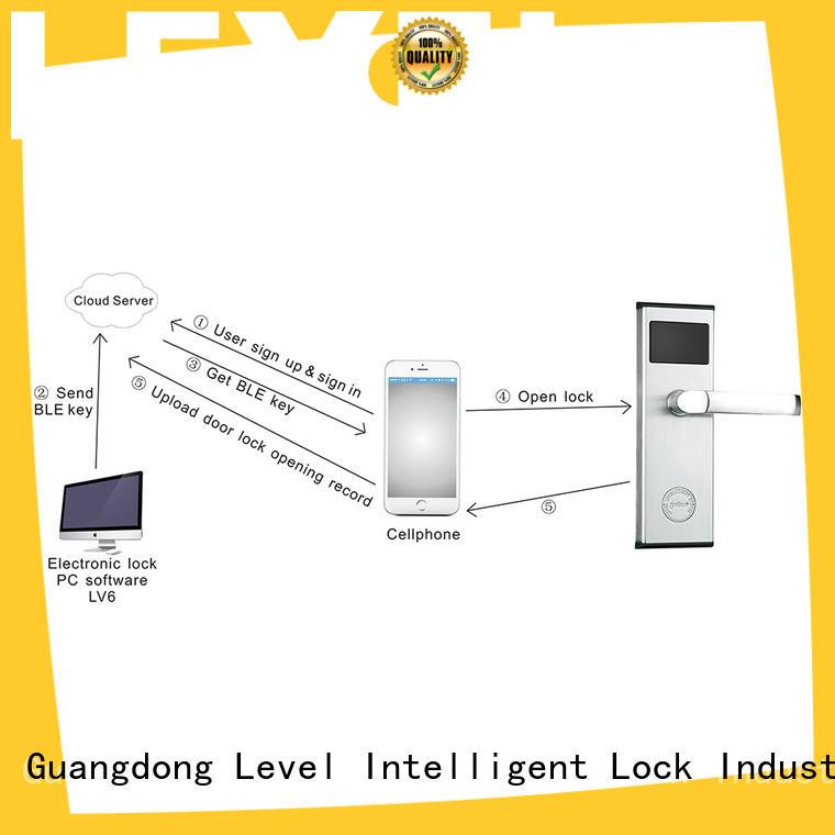Level level bluetooth door lock on sale for apartment