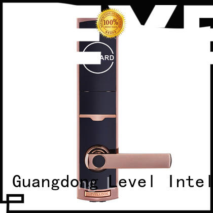 Level high quality smart card lock promotion for guesthouse