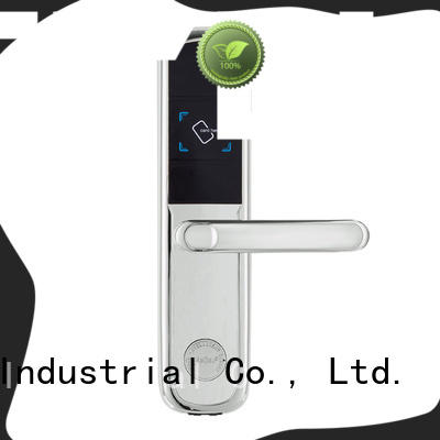 Level stainless key card door lock for hotels wholesale for lodging house
