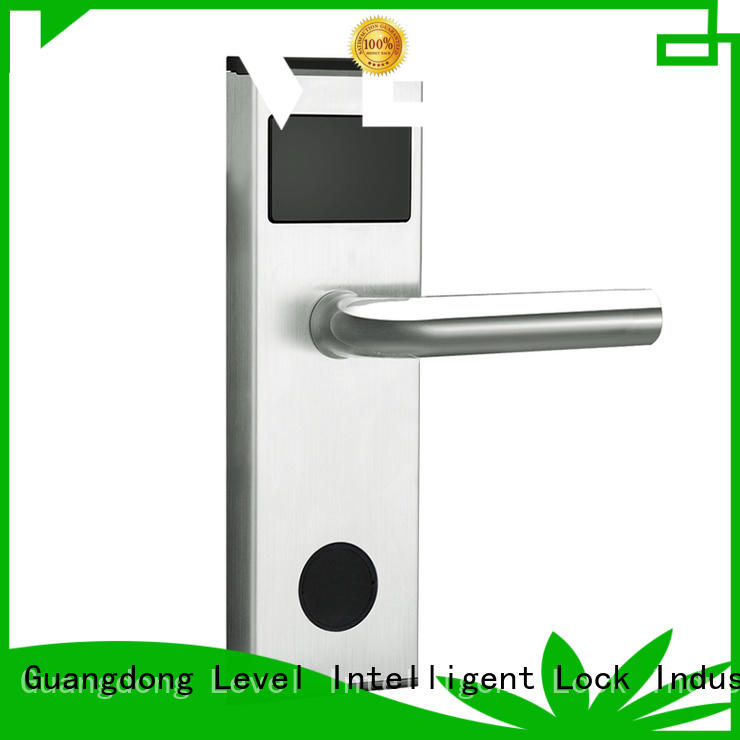Level luxury electronic lock directly price for lodging house
