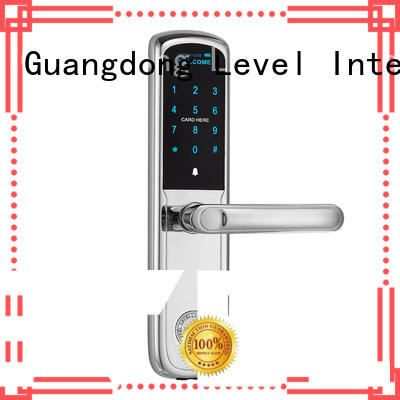 Level fashion electronic keypad lock supplier for residential