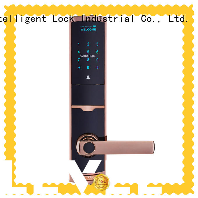 Level security keypad door lock supplier for apartment