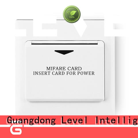 Level energy energy saver key card switch from China for residential