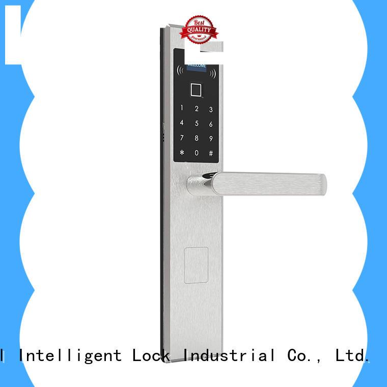Level sus304 electronic keypad lock supplier for Villa