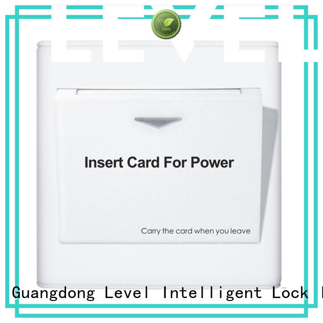 hotel energy saver key card switch supplier for apartment Level