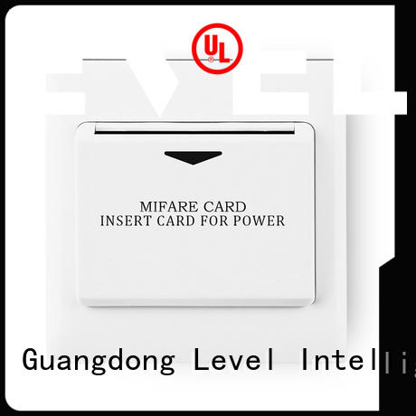 Level sw6000rmf1 hotel energy saving switch from China for home