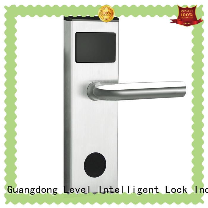 Level practical hotel room door locks wholesale for hotel