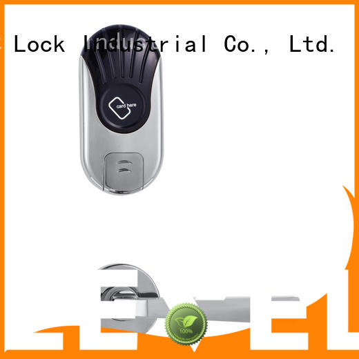 Hotel lock zinc alloy material two pieces split type RF-1620