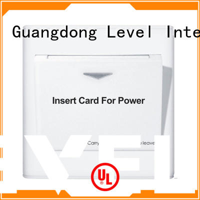 Level high quality energy saver key card switch promotion for apartment