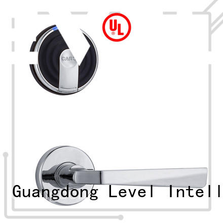 Level latch electronic door locks hotel directly price for hotel