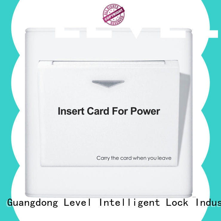 reliable energy saver key card switch insert promotion for apartment