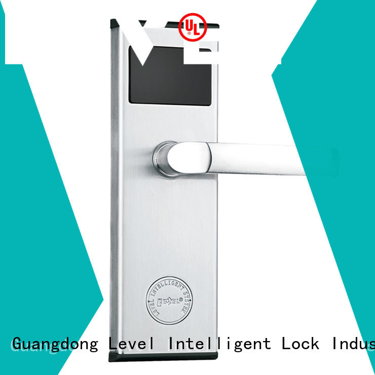 Level rf290 electronic door locks hotel supplier for lodging house